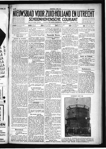 Schoonhovensche Courant 1931-04-01