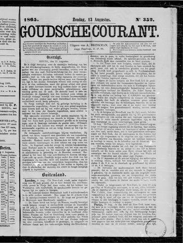 Goudsche Courant 1865-08-13
