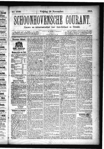 Schoonhovensche Courant 1915-11-19