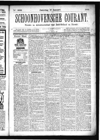 Schoonhovensche Courant 1912-01-27