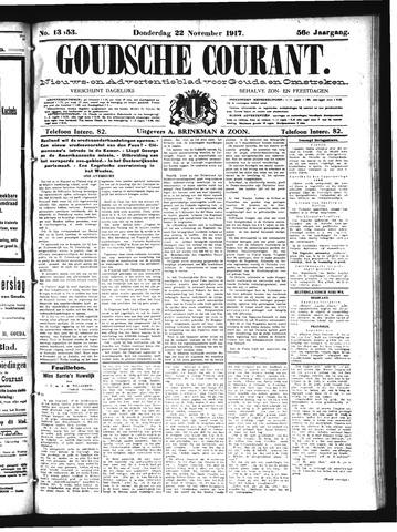 Goudsche Courant 1917-11-22