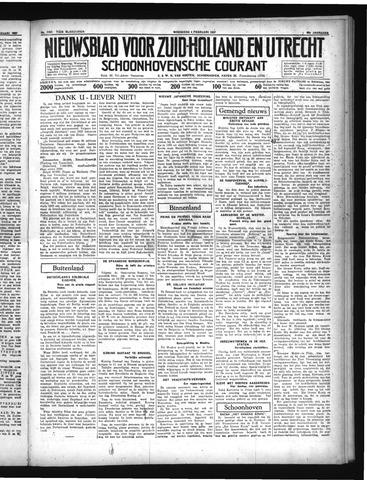 Schoonhovensche Courant 1937-02-03