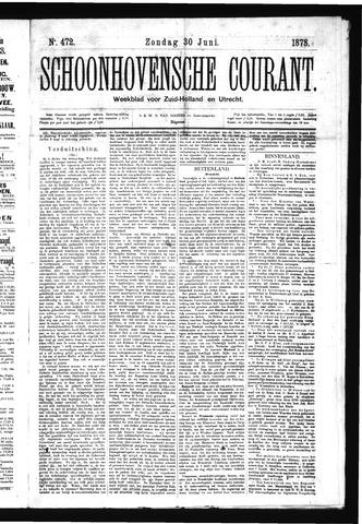 Schoonhovensche Courant 1878-06-30