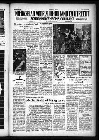 Schoonhovensche Courant 1955-04-27