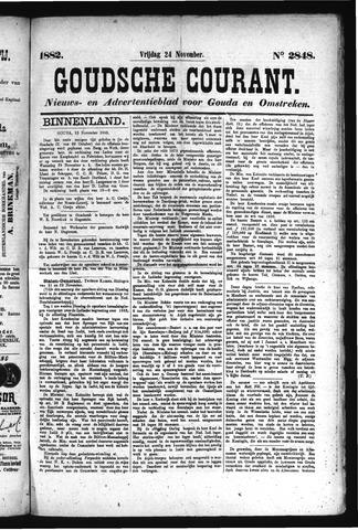 Goudsche Courant 1882-11-24