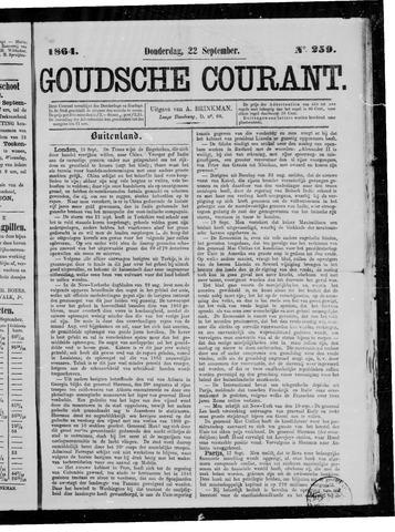 Goudsche Courant 1864-09-22