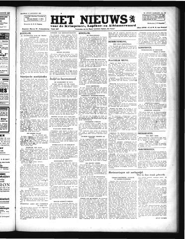 Schoonhovensche Courant 1946-08-19