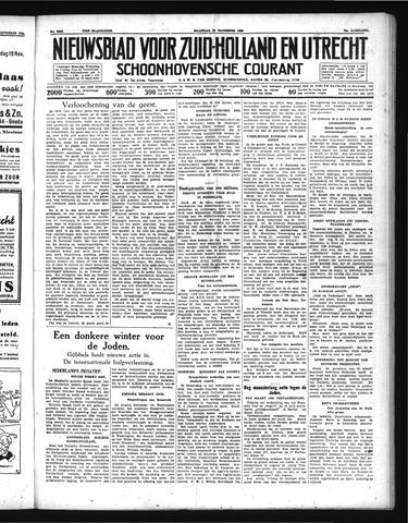 Schoonhovensche Courant 1938-11-21