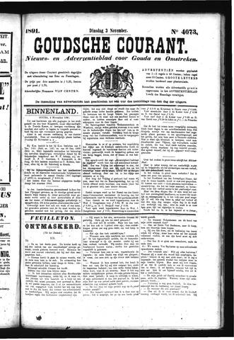 Goudsche Courant 1891-11-03