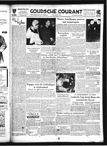 Goudsche Courant 1952-11-17