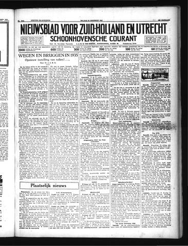 Schoonhovensche Courant 1934-11-23