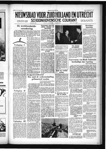 Schoonhovensche Courant 1958-01-24