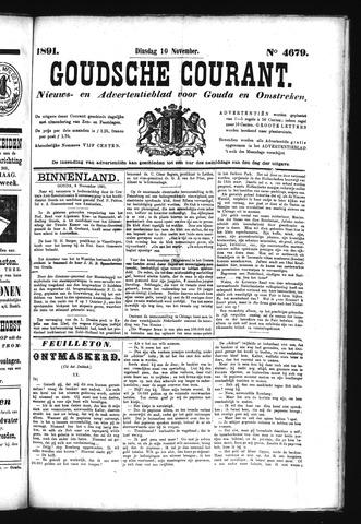 Goudsche Courant 1891-11-10
