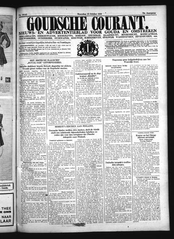 Goudsche Courant 1939-10-16