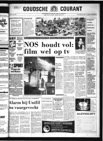 Goudsche Courant 1980-04-14