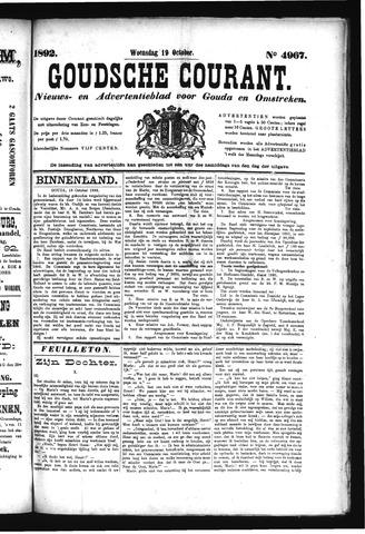 Goudsche Courant 1892-10-19