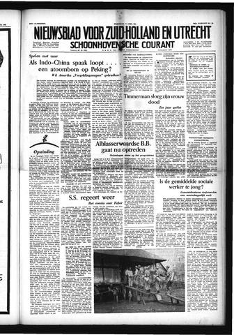 Schoonhovensche Courant 1954-04-14