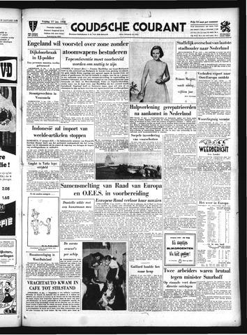 Goudsche Courant 1958-01-17
