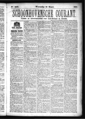 Schoonhovensche Courant 1913-03-26