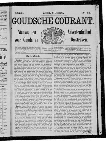 Goudsche Courant 1863-01-11