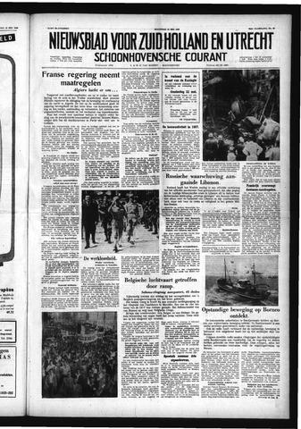 Schoonhovensche Courant 1958-05-19