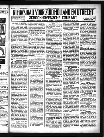 Schoonhovensche Courant 1942-01-16