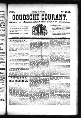 Goudsche Courant 1890-10-11