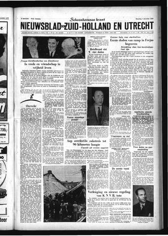 Schoonhovensche Courant 1959-12-07
