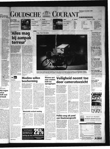Goudsche Courant 2004-11-09