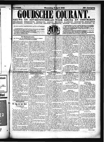 Goudsche Courant 1930-04-09