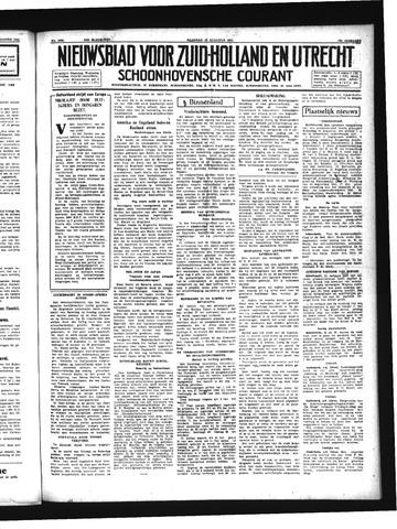 Schoonhovensche Courant 1941-08-18