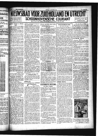 Schoonhovensche Courant 1942-08-07