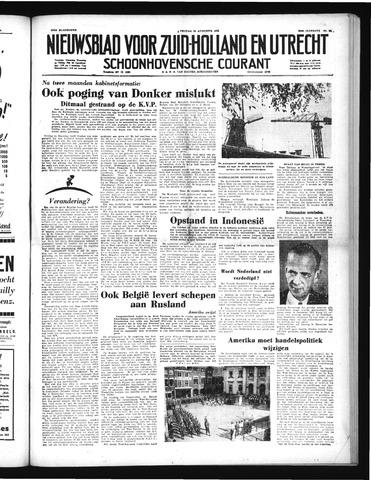 Schoonhovensche Courant 1952-08-22