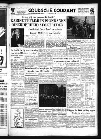 Goudsche Courant 1958-05-28