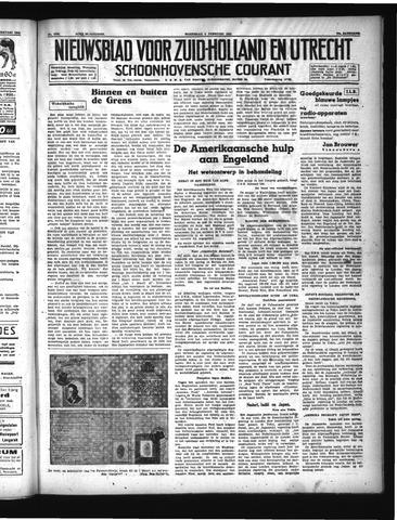 Schoonhovensche Courant 1941-02-05