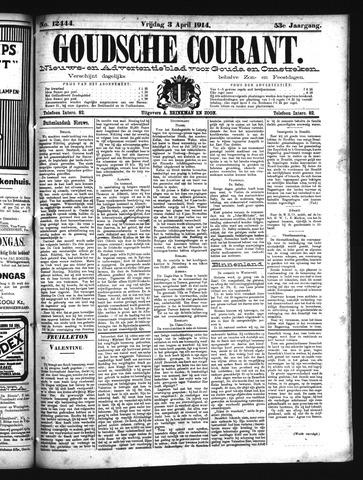 Goudsche Courant 1914-04-03