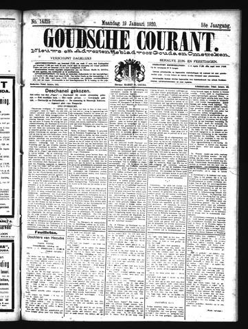Goudsche Courant 1920-01-19