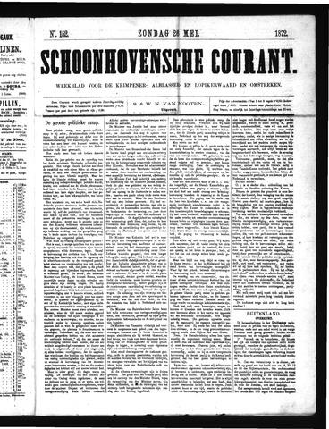 Schoonhovensche Courant 1872-05-26