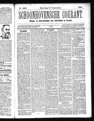 Schoonhovensche Courant 1902-09-13