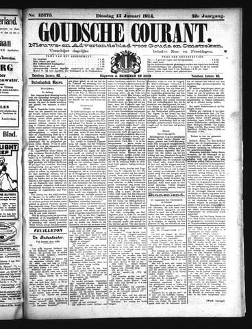 Goudsche Courant 1914-01-13