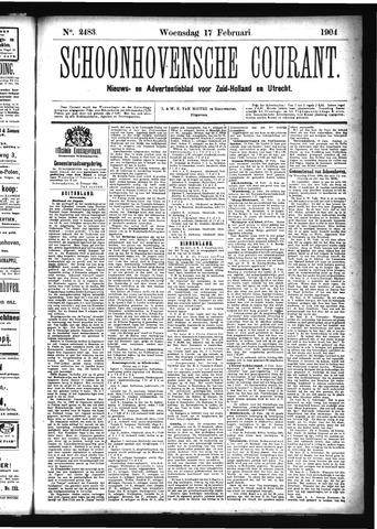 Schoonhovensche Courant 1904-02-17