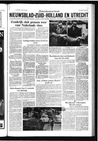 Schoonhovensche Courant 1967-04-10