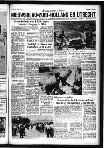 Schoonhovensche Courant 1964-07-27