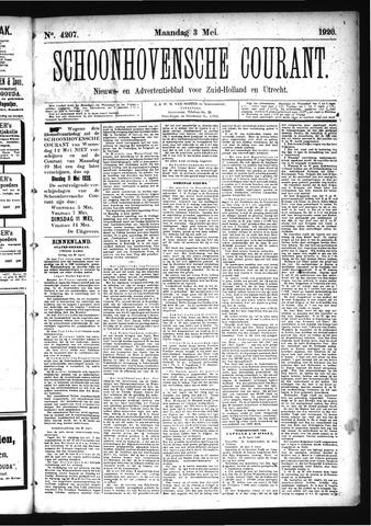 Schoonhovensche Courant 1920-05-03