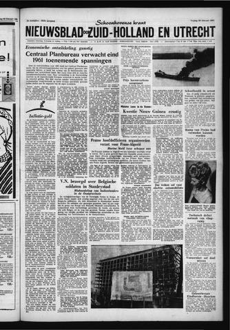 Schoonhovensche Courant 1961-02-24
