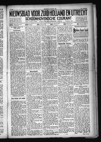 Schoonhovensche Courant 1929-08-28