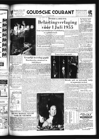 Goudsche Courant 1954-11-10