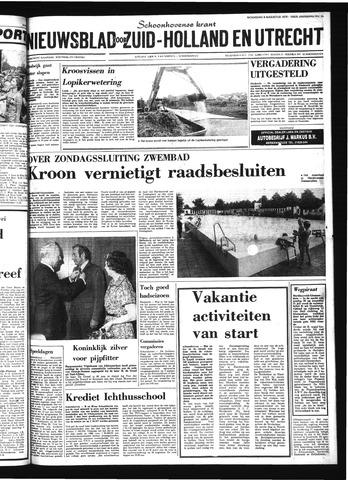 Schoonhovensche Courant 1978-08-09