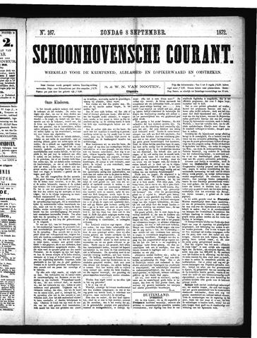 Schoonhovensche Courant 1872-09-08