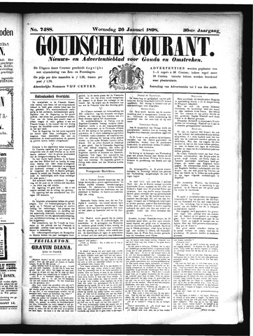 Goudsche Courant 1898-01-26